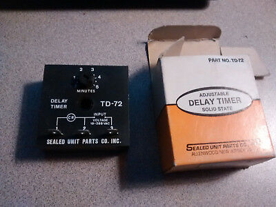 New Solid State Delay on Break Timer TD-72
