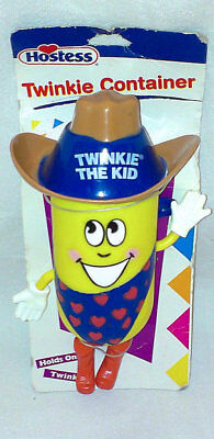 NEW Twinkie The Kid Hostess Twinkies Figure Snack Cake Holder Container