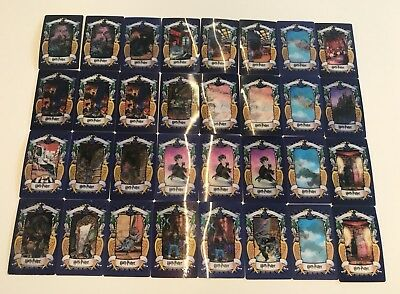 32X Harry Potter Chocolate Frog Trading Cards