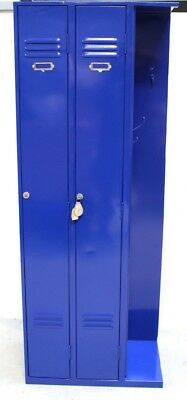 Vintage Industrial Locker Repainted Blue For A Tv Show Top Job Too