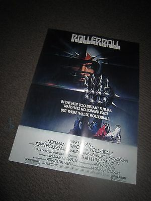 Rollerball/Harry Potter & The Deathly Hallows poster (MAKE AN OFFER!)