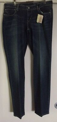 Ladies Levi Bold Curve Modern Rise Straight Leg Jeans Size 34 NWT