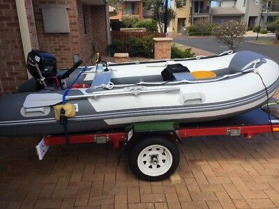 Inflatable 9.8hp Boat