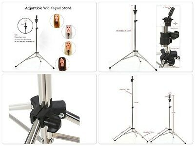 Mannequin Tripod Adapter Holder Base Stand For Wig Head Hairdressing Heavy Duty