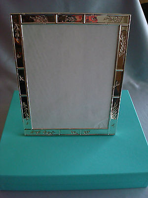 Tiffany 'bamboo Garden' Sterling Silver ~ Picture Frame 8X10 ~ Beauty!