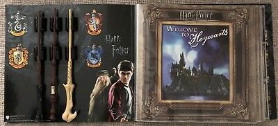 Harry Potter The Ultimate Collection: Album, Movie Posters, Postcards & 3 Wands