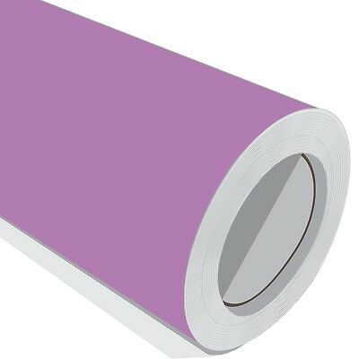 3 Metre Vinyl Roll HD Purple Matt Sticky Back Sign Wrap Sticker Pro Grade 10 Yr