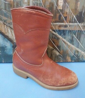 d70ea2ab04dca VINTAGE RED WING Irish Setter Pull-On Work Boots 811 ~ Size 8 D