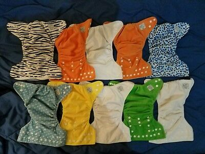 HUGE lot of cloth diapers & more