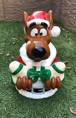 Scooby Doo With Bone Holiday Cookie Jar