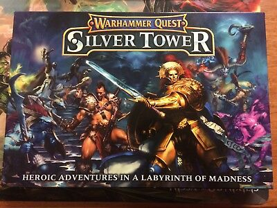 Warhammer Quest Silver Tower, Opened But Unused, Fantasy Board Game.