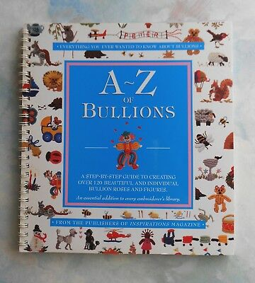 A-Z of BULLIONS - 1ST Edition 1999 (Stated) Softcover Book in GC - 120+ Designs