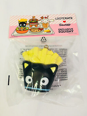 CHOCOCAT SQUISHY Box of Fries Sanrio Loot Crate EXCLUSIVE Tasty