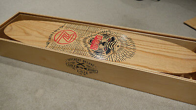Uppercut Deluxe x Z Flex Limited Edition Collab Skateboard BRAND NEW