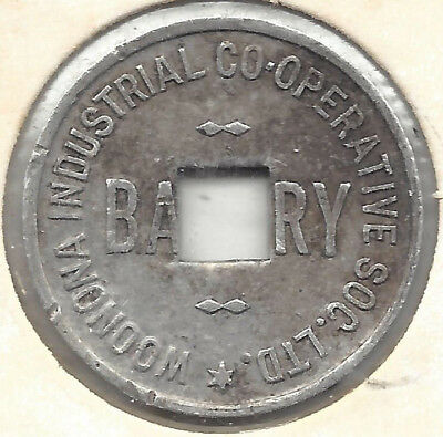 Woonona Industrial Co-Operative Soc Ltd Bakery One Loaf Round Sq Hole Alum