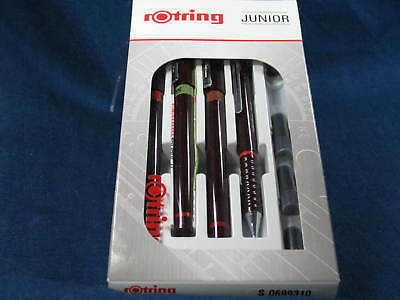 Rotring Isograph Set 0,10 + 0,30 + 0,50 mm + Tikky T0,5 Junior Set, S0699310