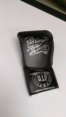 Frank Bruno signed glove with COA