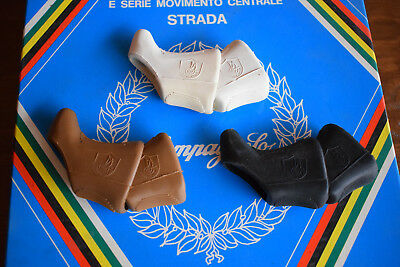 Campagnolo Super Record Shield Logo Brake Lever Hoods .