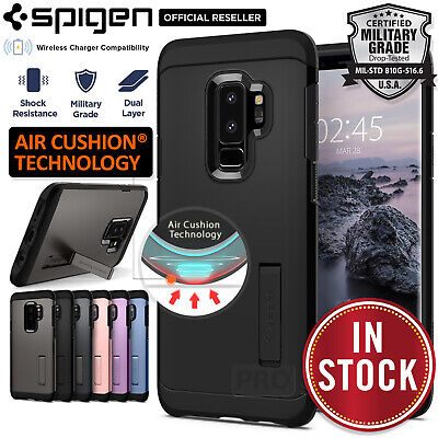 Galaxy S9/Plus Case Genuine SPIGEN Tough Armor Shockproof Cover for Samsung