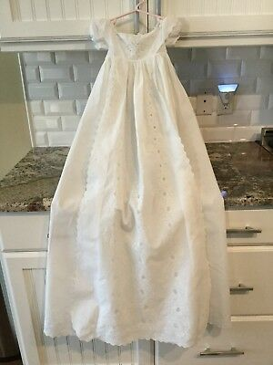 Antique Victorian Baby Ayrshire Christening Gown Dress