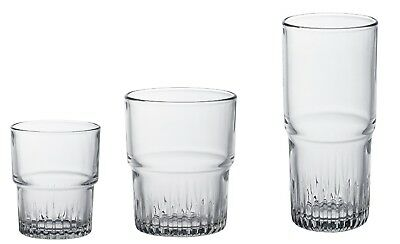 Duralex Empilable Water glass ,stackable, Set of 6 Pieces