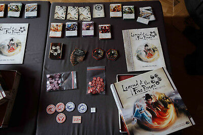 """""""Legend of the 5 rings the card game"""" (Grundspiel, 2017, engl. Ausgabe)"""