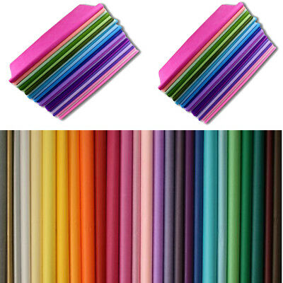 50/100 Quality Multi Coloured Tissue Sheets/Gift Wrap/ Wrapping Premium Sheets