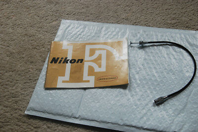 Nikon F Instruction Manual and Nikon Shutter Release Cablee
