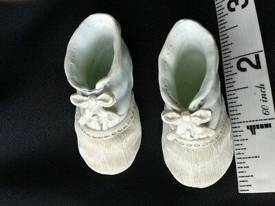 SHUDEHILL GIFTWARE  tiny baby first bootees blue - Christening gift? -GORGEOUS!!