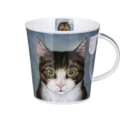 New Dunoon Cairngorm Rogues' Gallery Bone China Cat Mug 3 Options in Gift Box