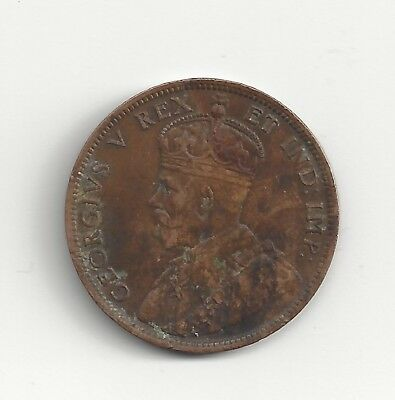 1911 & 1918 Canada One Cent Coins George V