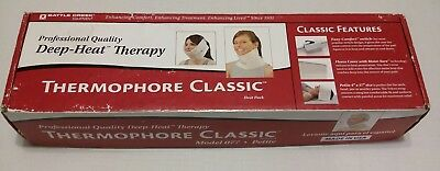"""Thermophore Model 007 Deep Heat Therapy Neck & Head Heating Pad Petite 4""""x17"""""""