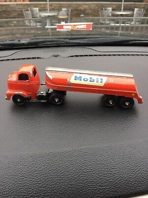 "VTG TOOTSIE TOY Mobile  GASOLINE TANKER TRUCK gorgeous 8"" approx"