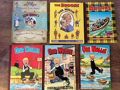 Oor Wullie and The Broons Book Collection