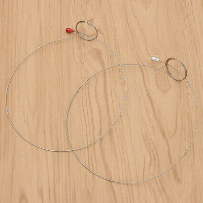 Silver Round Wire Loupe Eyeglass Holder Band Head Watch Watchmaker Repair Tool