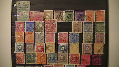 Germany:russian Occupation Lot.used. $$$$$$$$$$$$$ H/v.