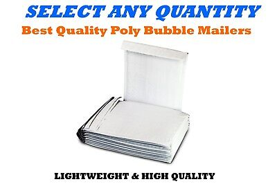 """#0 6x10 POLY BUBBLE MAILERS SHIPPING MAILING PADDED BAGS ENVELOPES 6"""" x 9"""""""