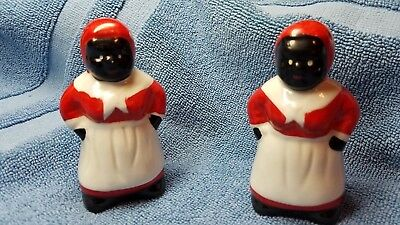 Black Americana Salt And Pepper Shaker
