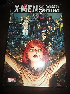 X-Men: Second Coming Marvel HC 1st printing Graphic Novel TPB OOP RARE Cable