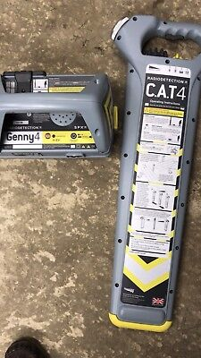 Radiodetection Cat 4 and Genny 4 Set - C.A.T Cable Avoidance