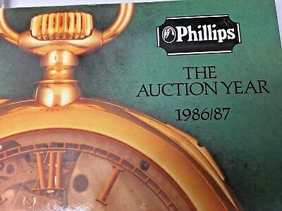 Vintage Phillips, THE AUCTION YEAR --1986/87
