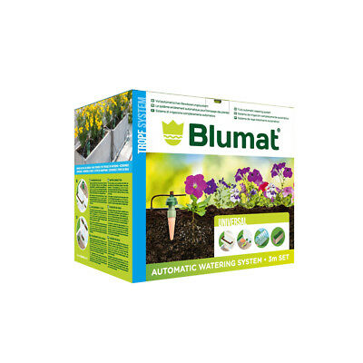 Blumat Drip (Tropf) System Automatic Irrigation Box Kit - 6 Carrot Gravity Syste