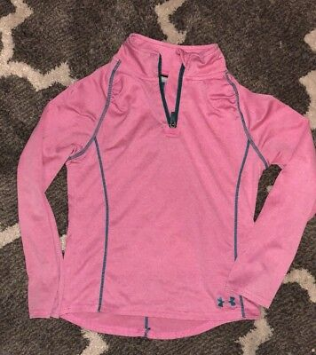 Girls Under Armour Long Sleeve Pullover 6