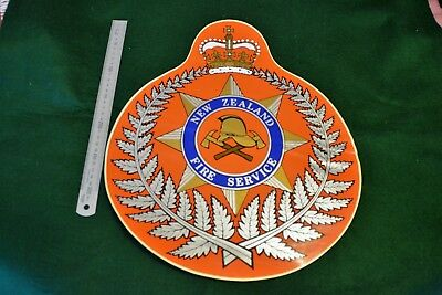 1 x Large New Zealand Fire Service Truck Decal (Rare)