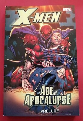 Marvel X-Men Age Of Apocalypse Prelude NEW MSRP $29.99 TPB  Must See