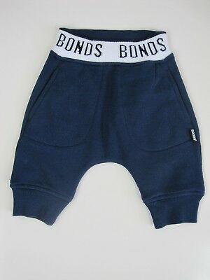 Bonds Baby Signature Fleece Trackie Pants sizes 000 00 1 Colour Blue