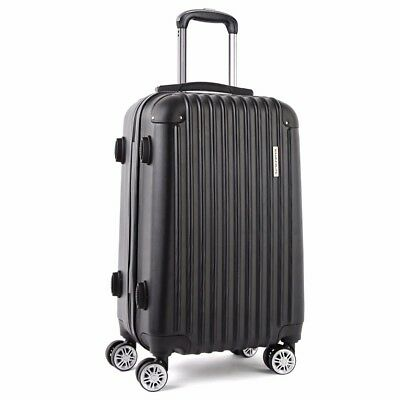 """20"""" 40L Luggage Suitcase Trolley Set Travel Carry On Bag Hard Case Lightweight"""