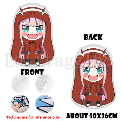 Darling in the FranXX Zero Two Irregular Pillow Sofa Cushion Stuffed Doll Toy