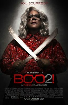 Boo 2 A Madea Halloween  MOVIE theater 1 sheet POSTER 2 Sided ORIGINAL 27x40