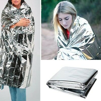 New Portable Water Proof Camping Emergency Rescue Blanket Foil Thermal Space